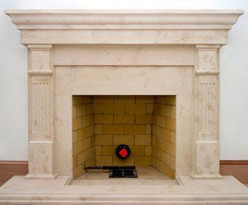 Cast Stone Fireplace Mantel Surrounds Precast Mantels Fireplaces
