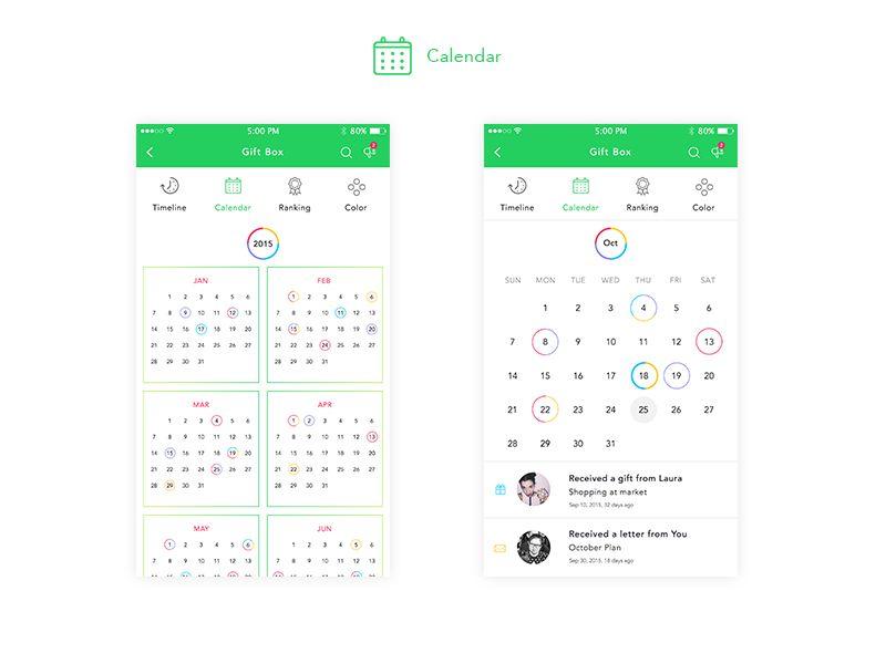 Momento Calendar Calendar, Calendar Design, Calendars 5