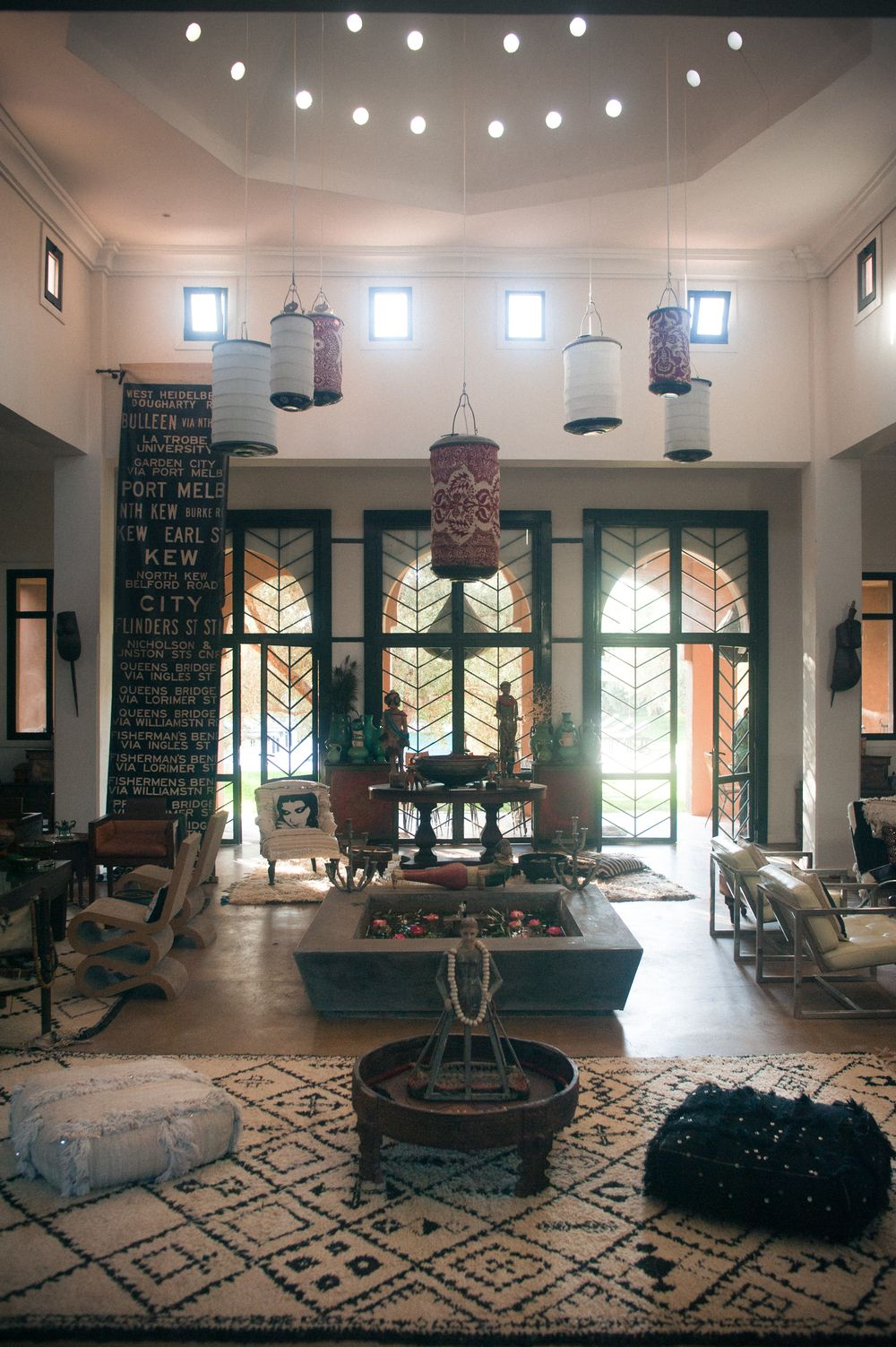 Salon Marrakech M Montague Tribal Chic For The Modern Nomad Grand Salon At