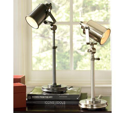 Pottery Barn Photographer S Task Table Lamp For The Movie Room Lamp Table Lamp Pottery Barn Lamps