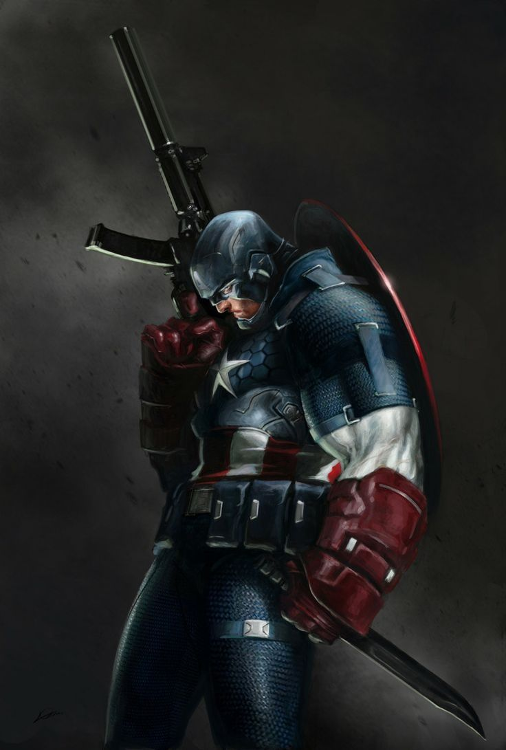 #Captain #America #Fan #Art. (Captain America) By: Alexander Lozano. (THE * 5 * STÅR * ÅWARD * OF: * AW YEAH, IT'S MAJOR ÅWESOMENESS!!!™) ÅÅÅ+