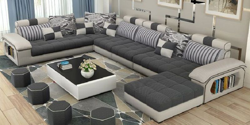 Sofa Sets Pattern Fabric For Living