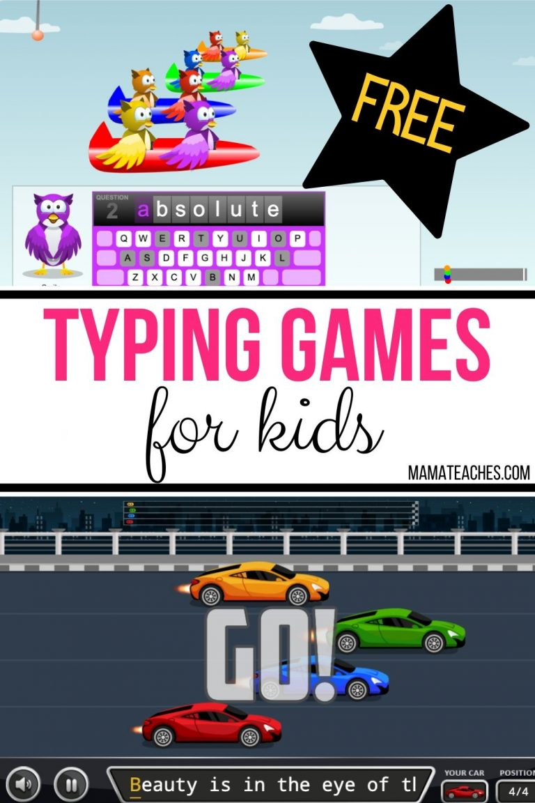 FREE Typing Games for Kids {and Adults!} in 2020 Typing