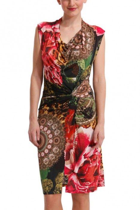 Robe Desigual floral | Choses à acheter | Pinterest | Dressing gown