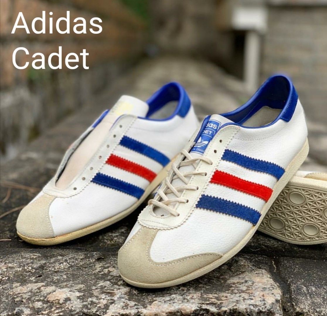 Stunning pair of vintage French made Adidas Cadet  ae5d1627d