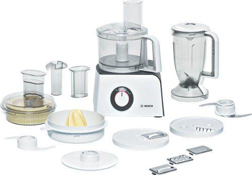 Bosch MCM4100 Compact Food Processor, White  Anthracite Finish - bosch mum küchenmaschine