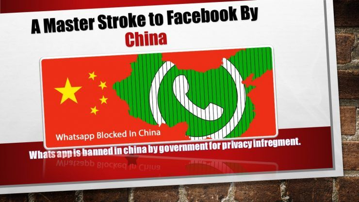 Whats app Banned In China Due To Illegal Information Leaks