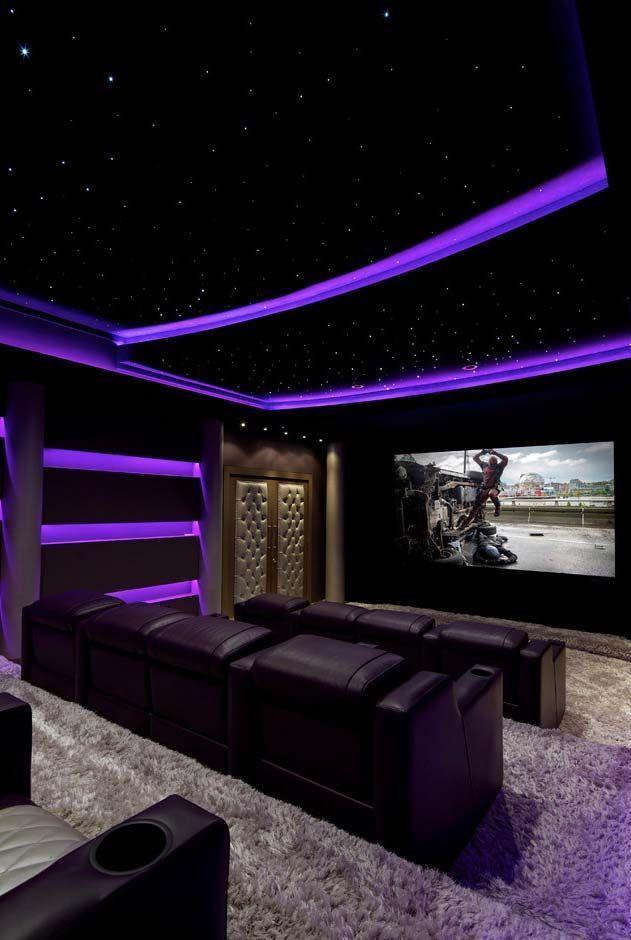 Home Cinema 70 Prachtige Filmzaal In Decoratie Huisprojecten Houseproje Home Cinema 70 Home Theater Room Design Home Cinema Room Home Theater Decor