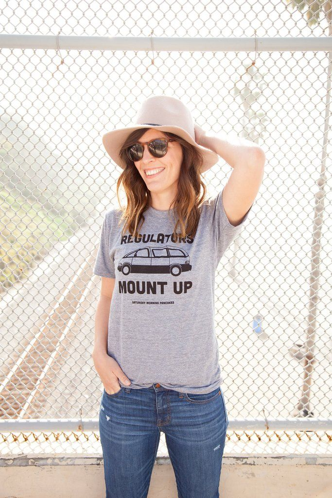 46fc8520484 Regulators Mount Up Minivan Unisex Triblend Tee