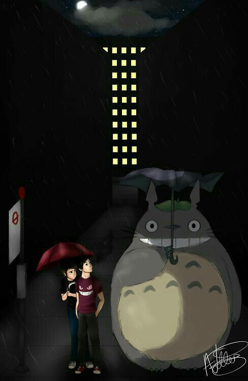 Totoro and Phan together, AMAZING