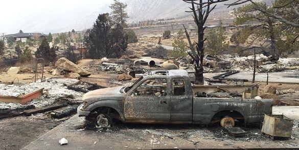 Siguen evacuaciones en #California por #incendio forestal