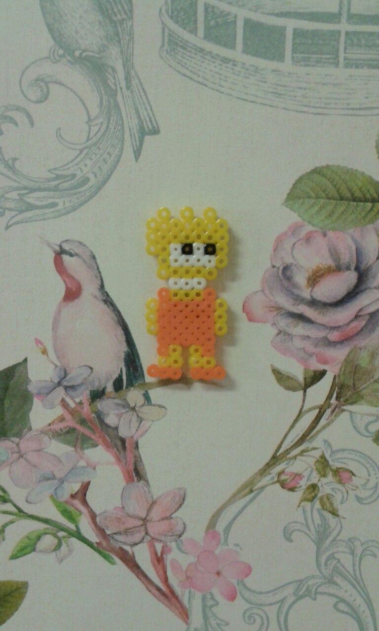 #Lisa #Los Simpsons #Hama #Beads