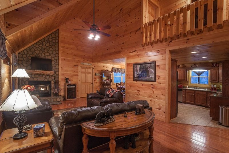 Mountain View Rental Cabin In North Georgia Ellijay Ga Cabins