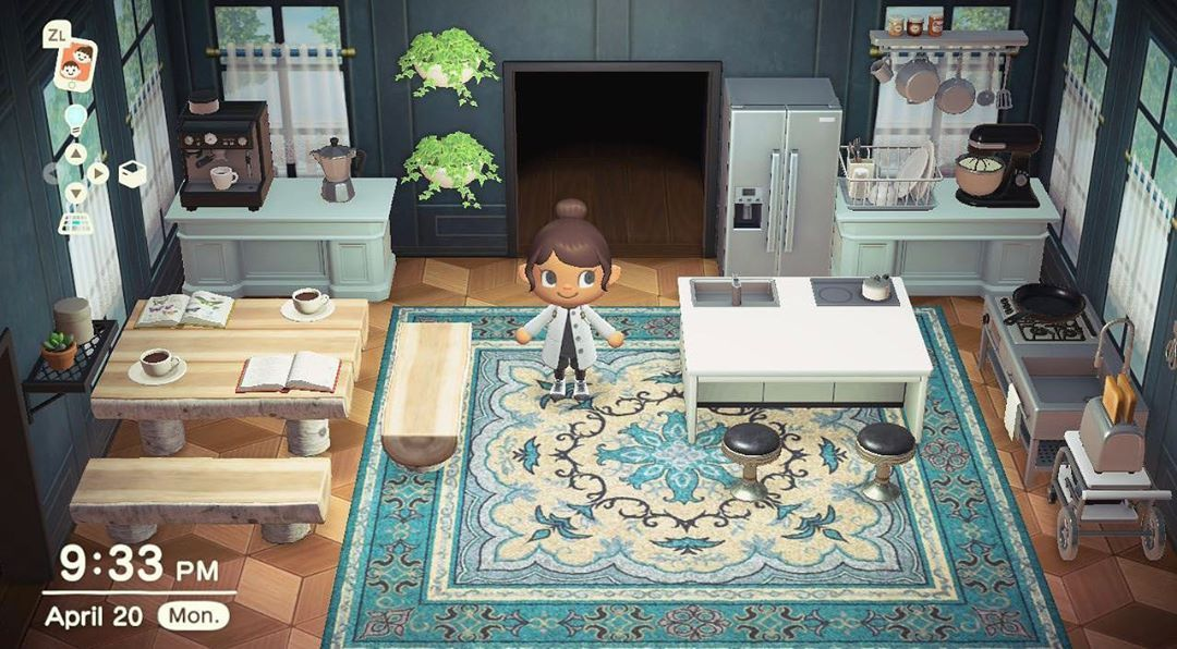 Acnh Designs Layouts On Instagram A Non Ironwood Kitchen Tip Use Den Desks As Animal Crossing Wild World Animal Crossing Animal Crossing Characters