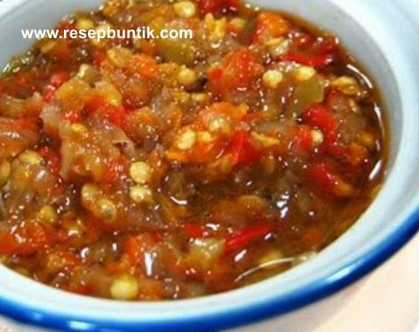 Resep Cara Membuat Sambal Bawang Enak Lezat Praktis Resep Makanan Dan Minuman Resep Masakan