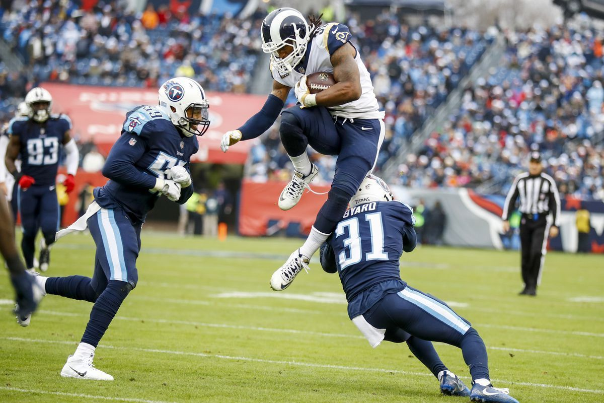 Todd Gurley Hurdling Players He Is The Best Running Back Nflhonors Todd Gurley Best Running Backs Nfl
