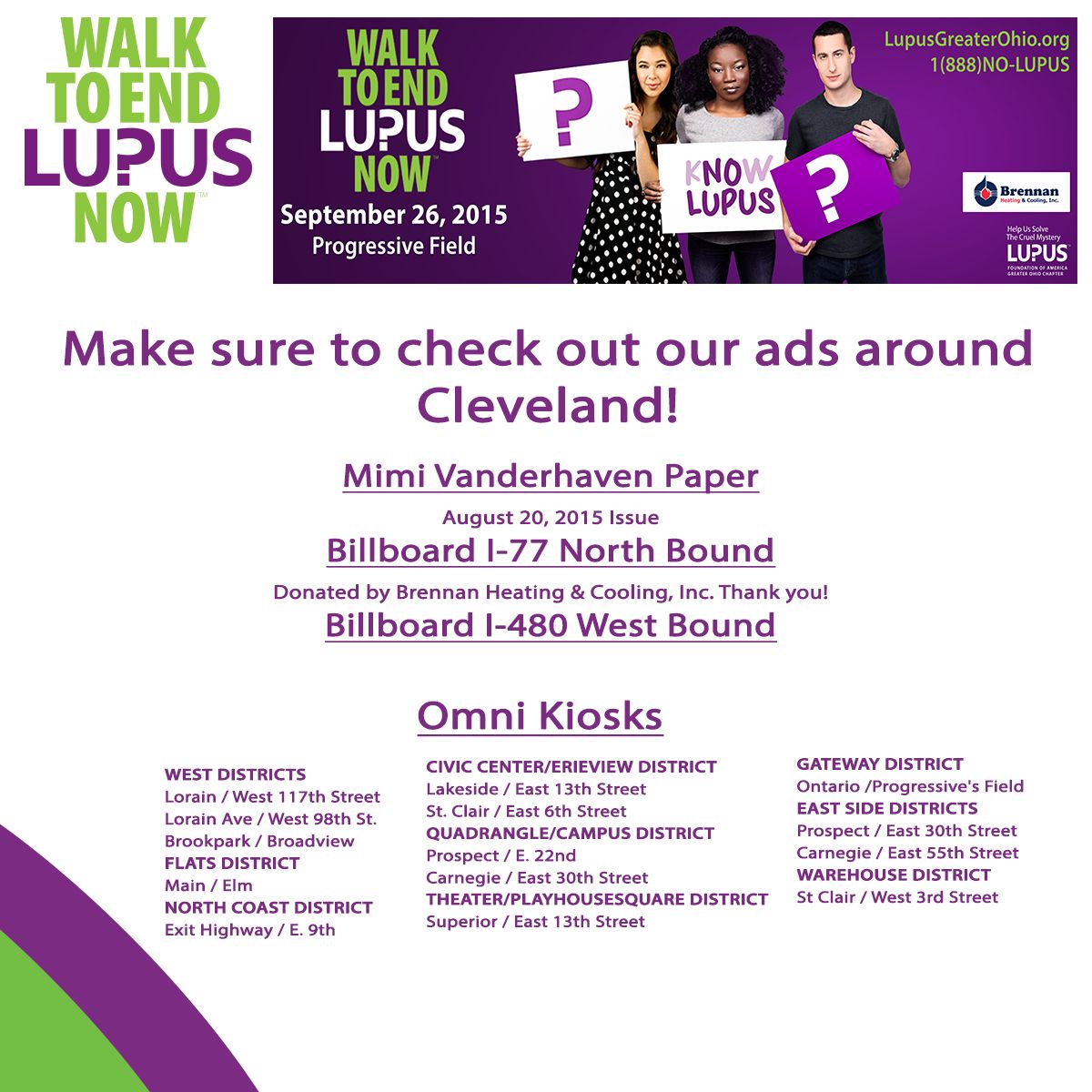 Check Out Our Advertisements In The Cleveland Area Cleveland