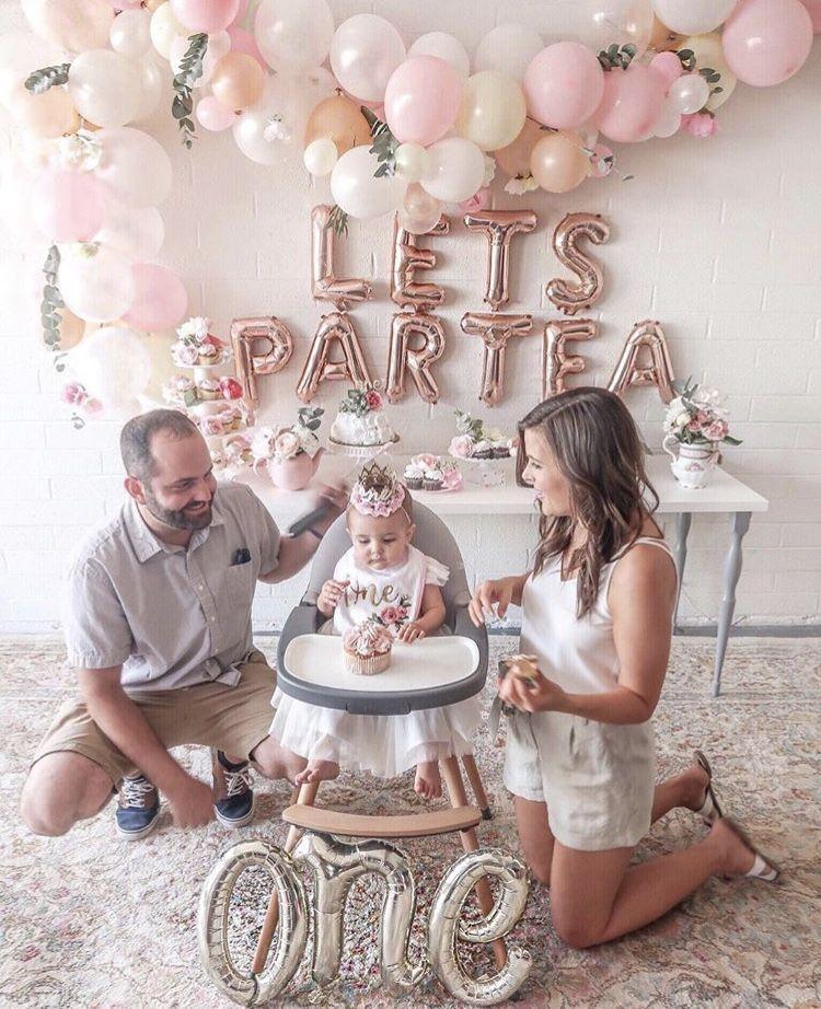 Partea Girl Birthday Decorations Baby Birthday Party Girl 1st