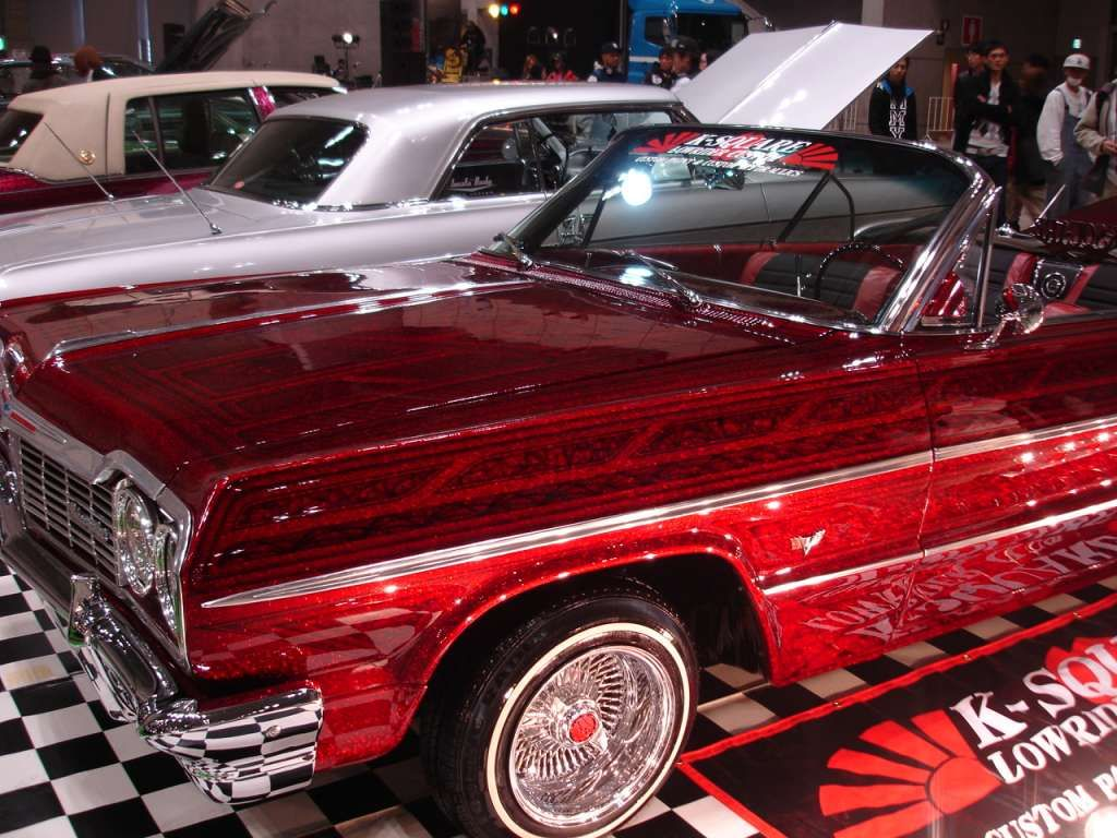 Candy Apple 1northern Cali Love Baby4 Candy Paint Cars 64