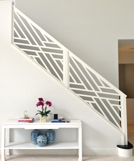 Top 60 Best Stair Trim Ideas: 3 Of The Best White Paint Colors To Use On Trim And