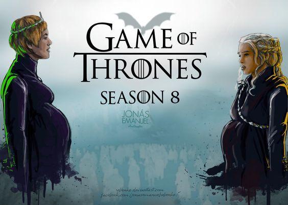 Game Of Thrones Season 8 Fan Art Cersei Lannister Daenerys
