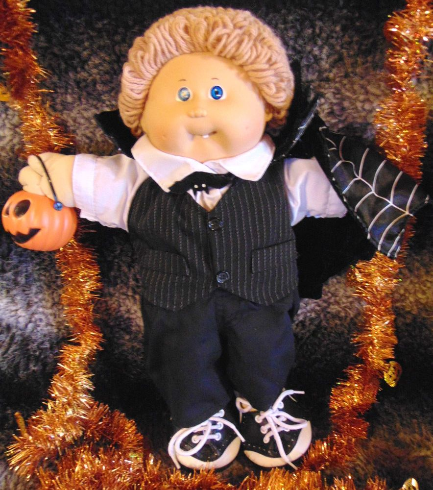 Cabbage Patch Kid 1985 Boy/Tan Hair/Tooth/A Halloween Vampire ...