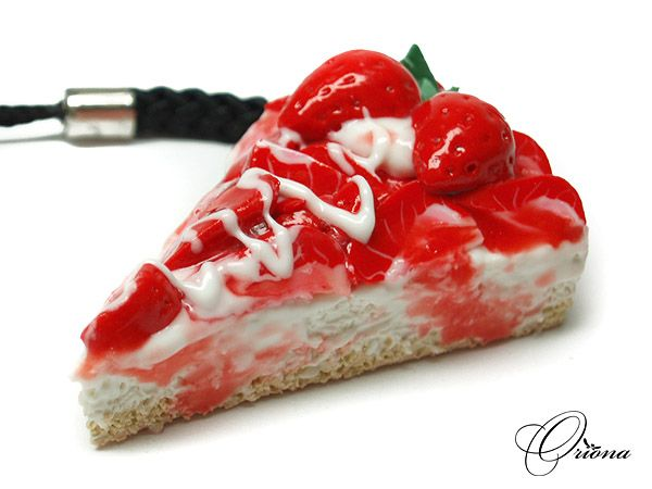 Strawberry Cake 03 by OrionaJewelry on DeviantArt