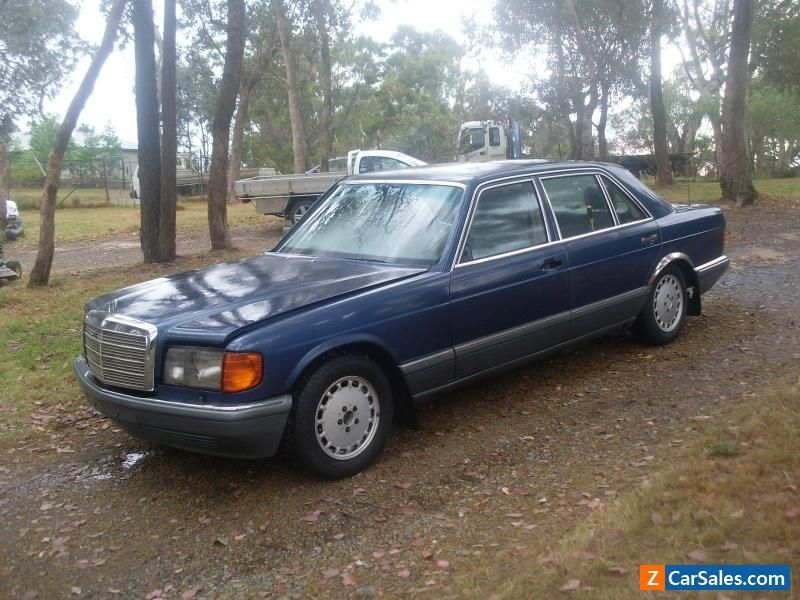 420 sel mercedes benze V8 petrol motor engine no rego no rwc 4 door ...