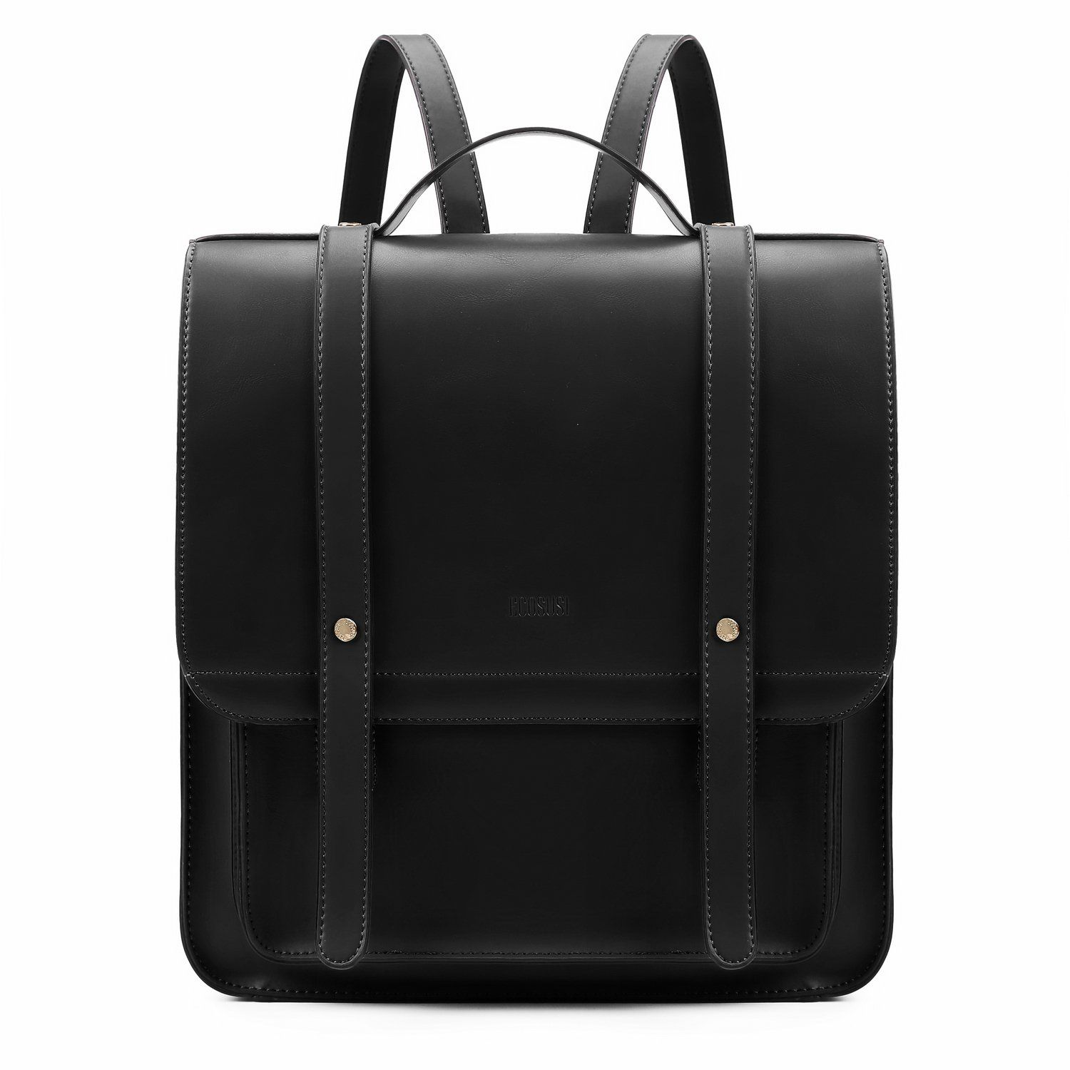 Women s Briefcase Laptop Backpack PU Leather Satchel Messenger Bag Fits up  to 14.7 Inch Laptops with Small Purse 259952dd6c5ce