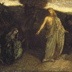 Ryder, Christ Appearing to Mary 1885