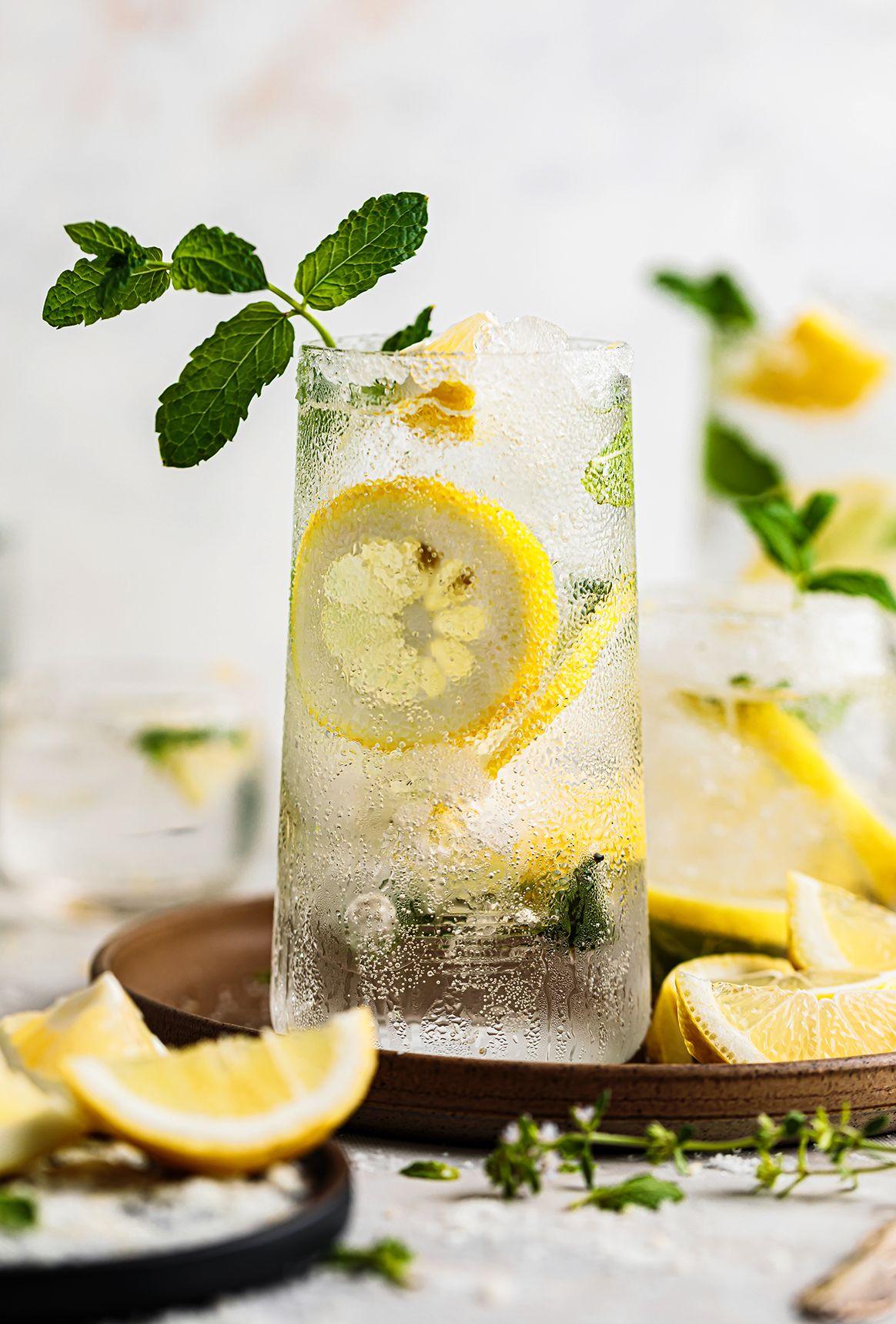 Refreshing Lemon Mojito Recipe Mojito Delicious Drink Recipes Yummy Drinks