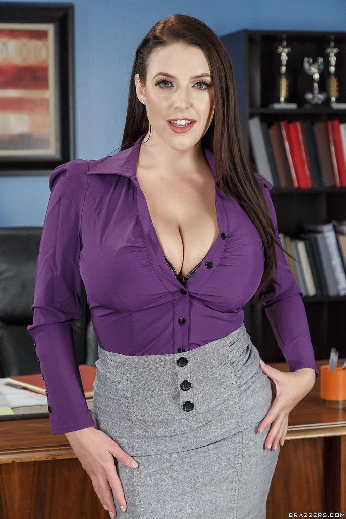 busty women at Fashionable work hot