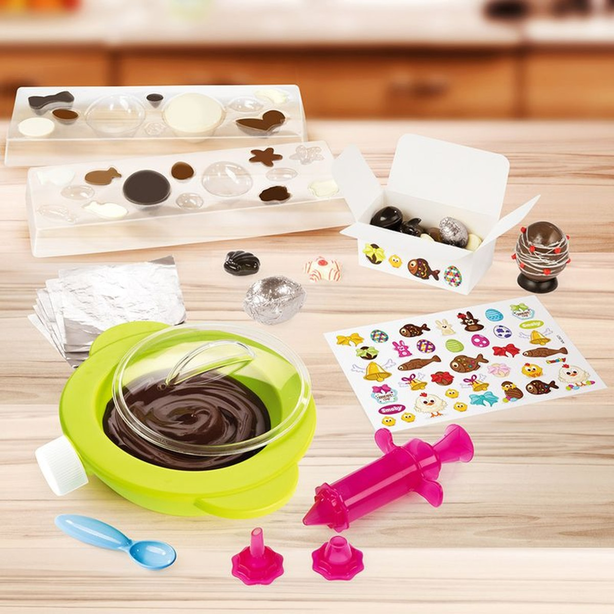 Smoby Chef Set Chocolat Taille Taille Unique Chocolat Paques