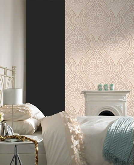 Labyrinth Graham and Brown Home wallpaper, Brown