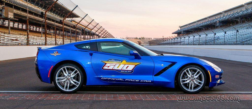 El Chevrolet Corvette Stingray 2014 será el próximo coche de seguridad en Las 500 Millas de Indianápolis - Motor 66