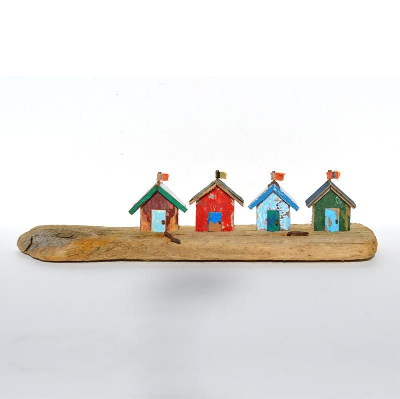 Four Driftwood Beach Huts - CoastalHome.co.uk: Driftwood