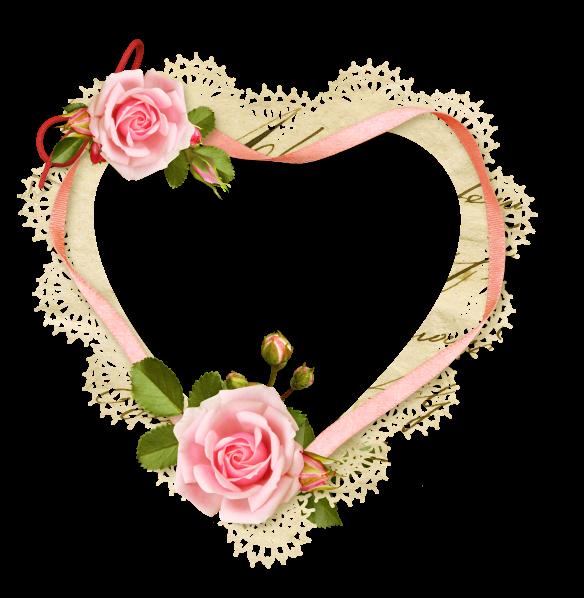 coeur,tube,png   Quadro de flores, Molduras de quadros