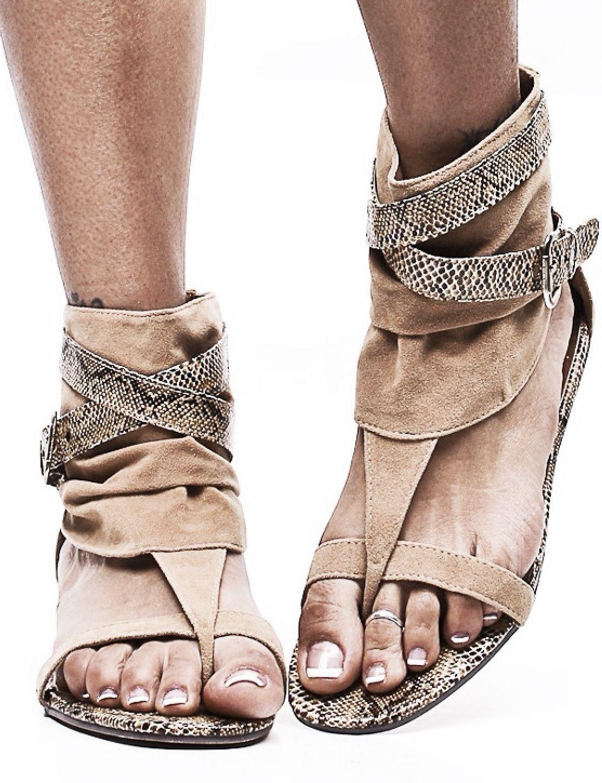 Shabby chic slipper