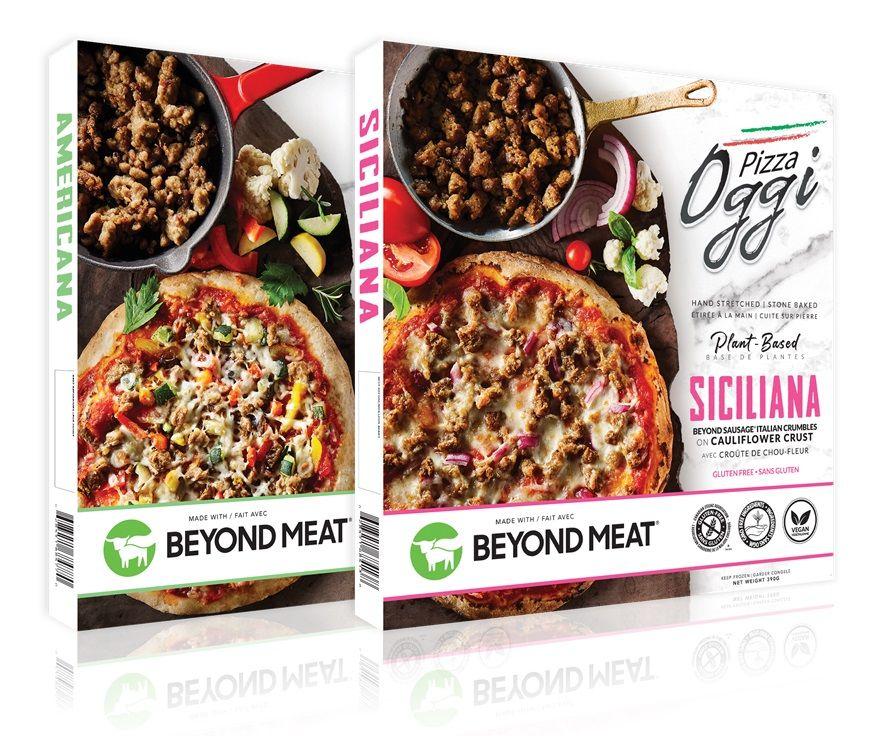 Pizza Oggi Plant Based Frozen Pizzas Reviews Info Gluten Free