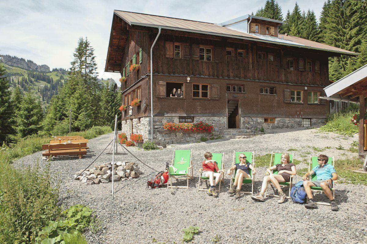 Bilder Von Der Wannenkopfhutte Bei Oberstdorf Im Allgau Oberstdorf Dorf Allgauer Alpen