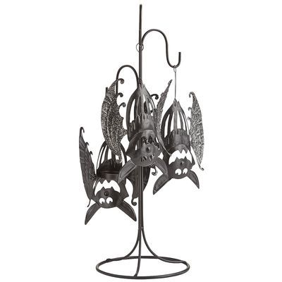 Hanging Bat Tealight Holder. They look so much like the bats from Count Duckula