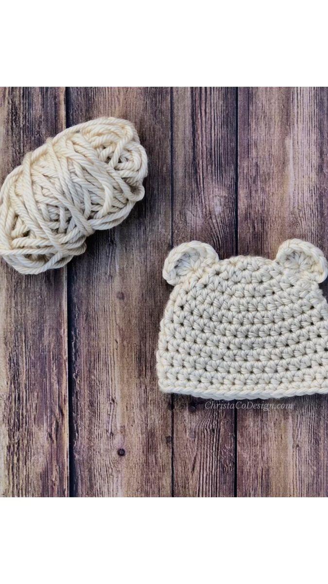 How To Crochet Bear Ears