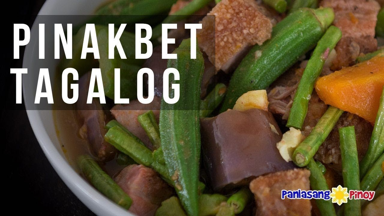 How To Cook Pinakbet Tagalog Bulanglang Youtube In 2020 How To Cook Pinakbet Pinakbet Filipino Vegetable Dishes