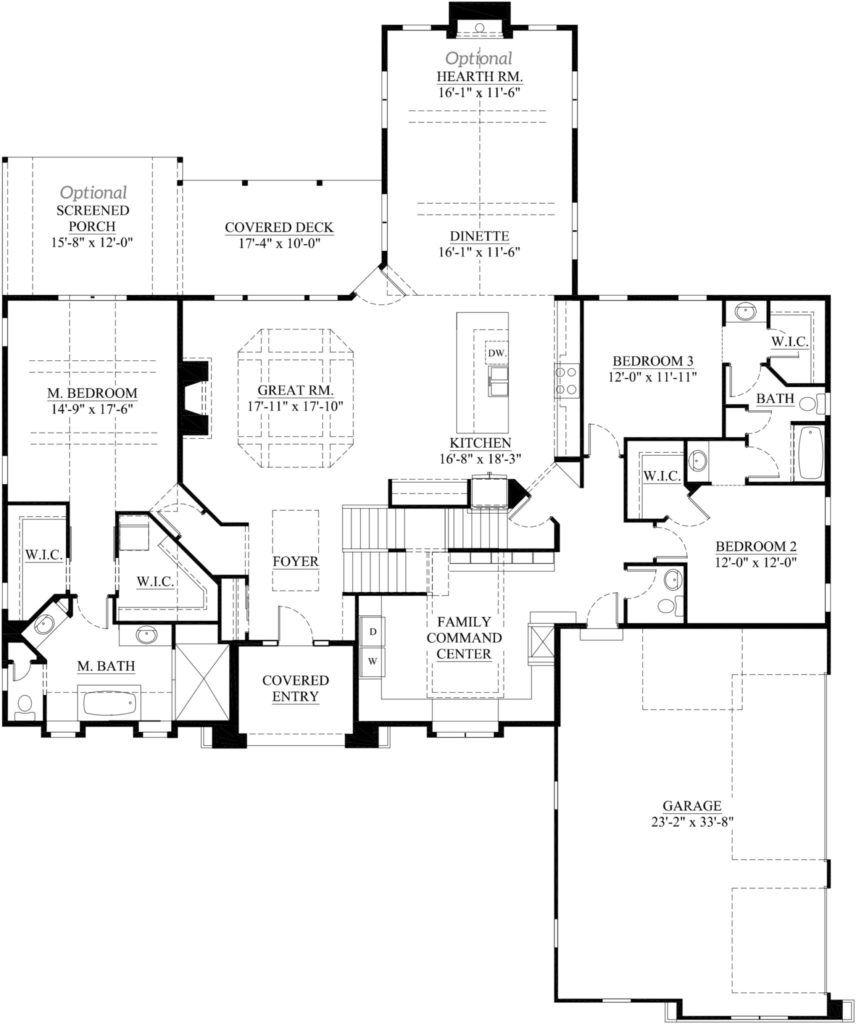 The dakota model home in hartland wi demlang builders