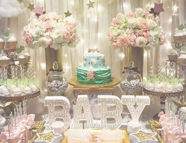 100 Sweet Baby Shower Themes for Girls | Baby shower themes, Theme
