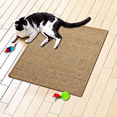 tapis griffoir casa pura® nature pour chats | en sisal résistant