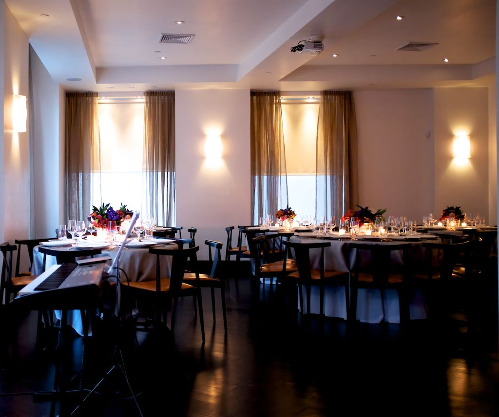 Ostra Boston Private Dining Room