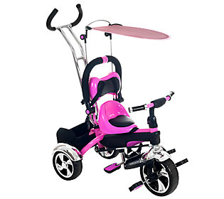 Lil Rider 2 In 1 Convertible Stroller Tricycle Qvc Com