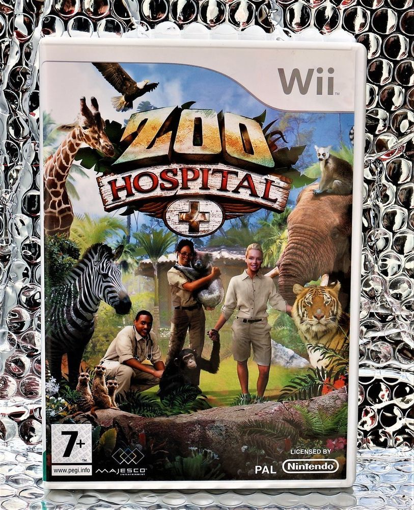 Image of: Simanimals Africa Zoo Hospital Wii Look After The Animals Game Pal Majesco Pinterest Zoo Hospital Wii Look After The Animals Game Pau2026 Computer Games