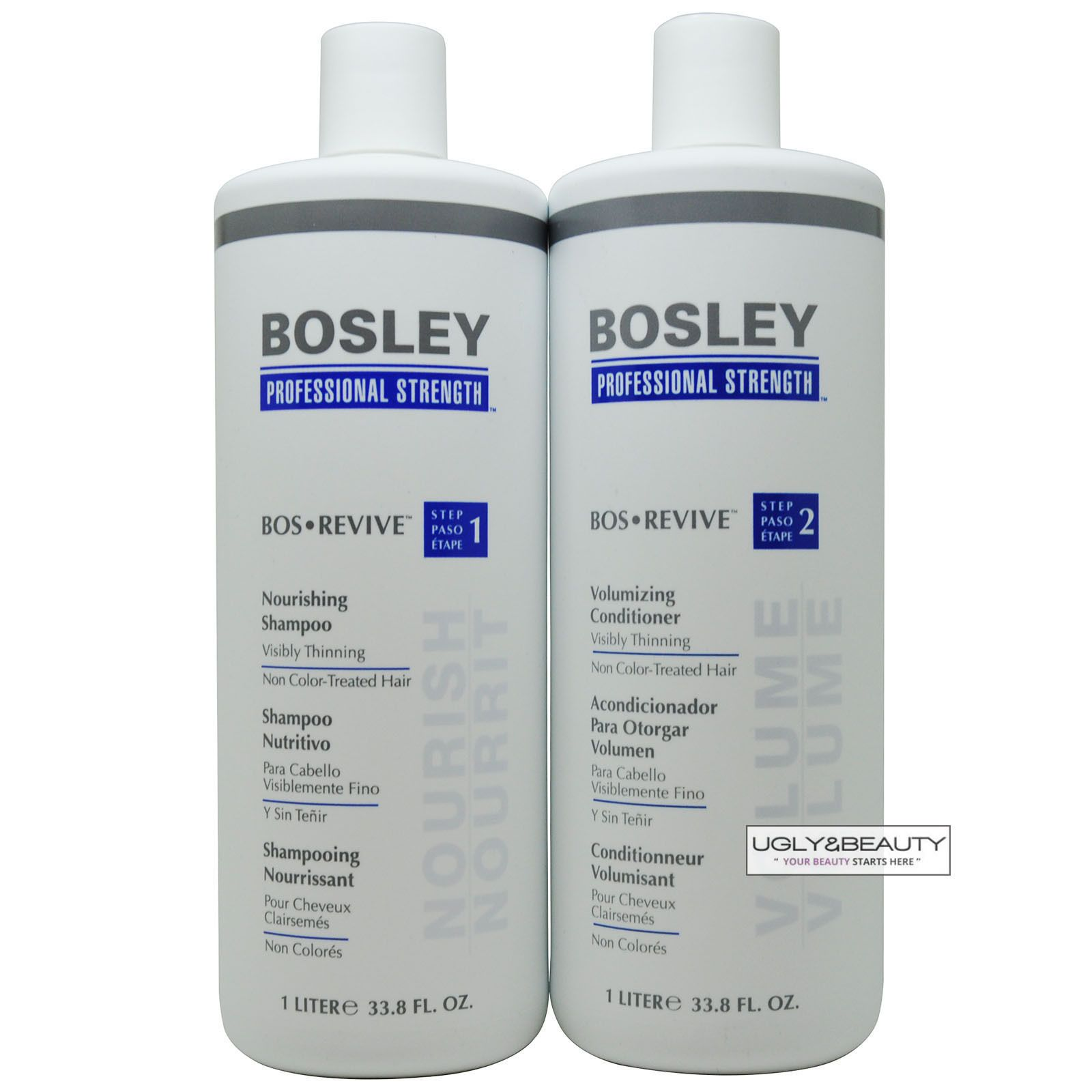 Details about Bosley Bos Revive Shampoo & Conditioner 1